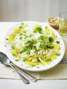 Sliced fennel, orange & almond salad | Jamie Oliver