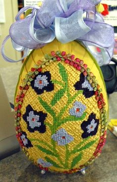 Needlepoint Easter Egg