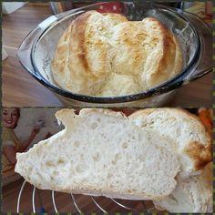 Malena Konyhája: Élesztőmentes gluténmentes kenyér Bread N Butter, Tej, Bread Recipes, Gluten Free, Paleo, Baking, Food, Glutenfree, Bakken