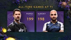 Puppey will end on 199 games at TI9, with Kuroky definitely making 200 games tomorrow in the lower bracket finals! Congrats! - @teamliquid - #ti9 - #noobarena_dota2 - @dota2 Time Games, Dota 2, Esports, Games Tomorrow, Funny Images, All About Time, How To Memorize Things, Community, Memes