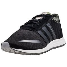 7e7c4fdad132c adidas Los Angeles Mens Trainers Black Olive - 8 UK Edison