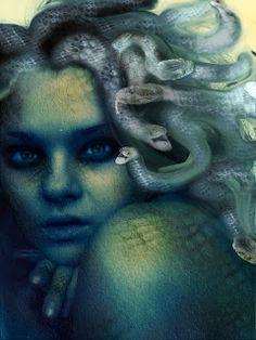 Medusa, way cool illustration