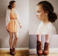 Cute, outfit & hair