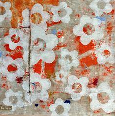 art and handmade originals Jute, My Arts, Collage, Quilts, Blanket, Blog, Handmade, Kunst, Collages