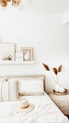 Upholstered Beds, Tufted Bed, King Beds, Home Decor Bedroom, Diy Bedroom, Neutral Bedroom Decor, Girls Bedroom, Bedroom Colors, Home Decor Ideas