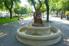 Bratislava, Old Town, Fountain, Outdoor Decor, Old City, Water Fountains