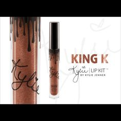 Kylie Lip Kit METALS Preorder: KING K. I already purchased and will ship ASAP Makeup Lipstick