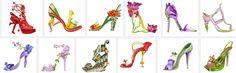 Michel Tcherevkoff e seus sapatos de flores ... no site: http://theaccessorista.com.br/2014/12/28/michel-tcherevkoff-e-o-sapato-flor/