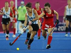 Argentina advances to gold medal match in women's field hockey