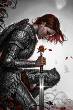 My version of Rose Red, paladin of Hope :)