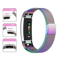 For Fitbit Charge 2 Strap Replacement Milanese Band Stainless Steel Magnet Saibe Watches UK Broken Marriage, Fitbit Charge, Stainless Steel Metal, Bracelet Clasps, Metal Bands, Watch Bands, Magnets, Rose Gold, Watches