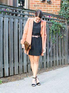 What's Pink, Polka-Dotted, & Glittery? Blogger Liz Schneider's Sweet Party Attire - Refinery29 | Ador