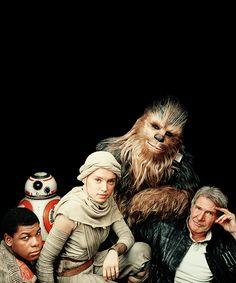 fysw: Star Wars: The Force Awakens // Vanity Fair Cover.
