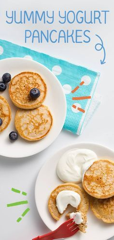 Perfect as a quick snack or meal, our yummy yogurt pancake recipe calls for whole grains and Baby's First Whole Milk Yogurt (with no added sweeteners!) for a soft, fluffy texture your baby will .