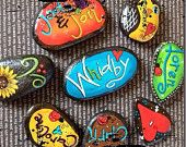 Inspirational or Family Rocks/Stones Painted & Personalized for you!!