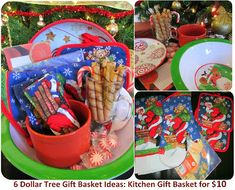 * Marias Self *: Dollar Store Last Minute Christmas Gift Ideas for Cheap - Gift Baskets from Dollar Tree: Spa, Facial, Pedicure / Feet, Family Time, Kitchen and Spa.