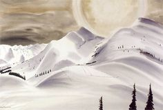 Pejzaz Huculszczyzna -- Mountain Landscape - Hutsulshchyna by Rafał Malczewski. Christina Rossetti, Winter Art, Mountain Landscape, Contemporary Paintings, Natural World, Amazing, Artist, Landscapes, Polish