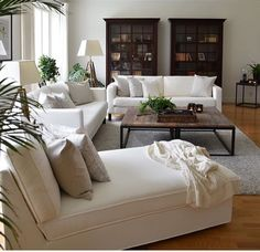 cozy living room cozy apartment living room decoration ideas this year 26 Large Living Room, Home And Living, Big Living Rooms, Home Living Room, Apartment Decor, Cozy Apartment, Living Room Decor Apartment, Apartment Living Room, Living Room Seating