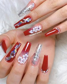 145 Beautiful Marble Nails to Copy Right Now Fancy Nails, Bling Nails, Pretty Nails, White Acrylic Nails, Summer Acrylic Nails, Marble Nails, Nails Design With Rhinestones, Cute Acrylic Nail Designs, Flower Nails