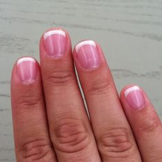My first SNS manicure. Supposed to be healthier than gel and acrylic. Nails are dipped in colored powder instead of painted.