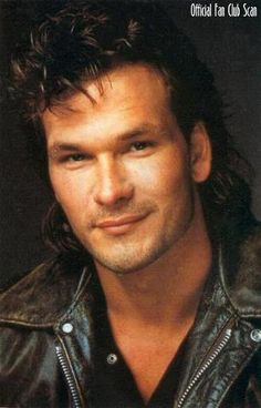 He was so handsome!  RIP...Patrick Swayze
