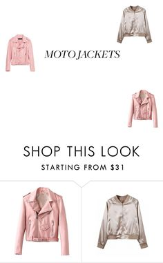 """jaket"" by nada33714 on Polyvore featuring mode et Piel Leather"