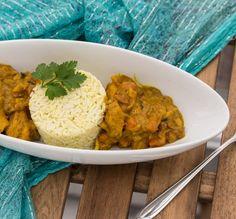 Bollywood-Curry mit Äpfeln und Gewürzreis - Weil Liebe durch den Magen geht