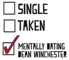 Singel tas mentalt dating Dean Winchester