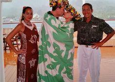 Lua de mel no Tahiti