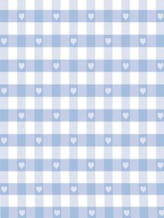 Kate Purple Blue Love Lattice Background Printed Pattern