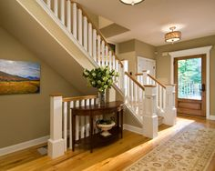 Combining White And Stained Interior Trim Design, Pictures, Remodel, Decor and Ideas - page 16
