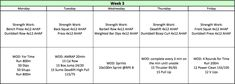 6 Weeks of Muscular Growth for Functional Fitness Athletes (Part - Tier Three Tactical Crossfit Workout Plan, Gym Workout Tips, Shred Workout, Workout Plans, Workout Board, Gymnastics Workout, Workout Men, Training Workouts, Triceps Workout