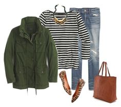 """""""Untitled #1423"""" by kittywitty ❤ liked on Polyvore featuring Madewell and J.Crew"""
