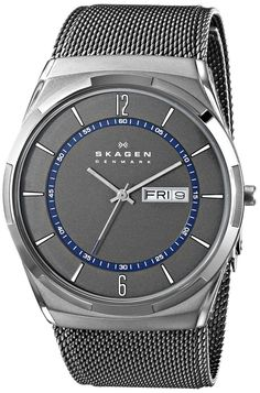 love the watchface, nice grey / blue contrast, less keen on the band. this is a brand with nice watches - jewelry mens necklaces, mens wedding jewelry, designer mens jewelry
