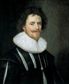 Sir Thomas Holte by attrib to Cornelis Jannsens van Ceulen