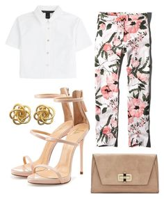 """""""Floral mood"""" by adhara-humbert on Polyvore featuring moda, Abercrombie & Fitch, Marc by Marc Jacobs, Giuseppe Zanotti, Diane Von Furstenberg, women's clothing, women's fashion, women, female y woman"""