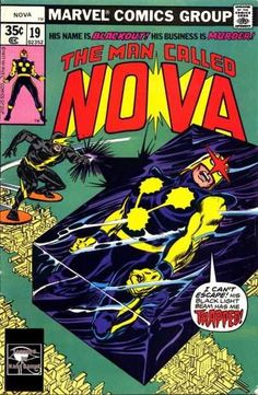 Nova #19 - Blackout Means Business, and His Business is Murder