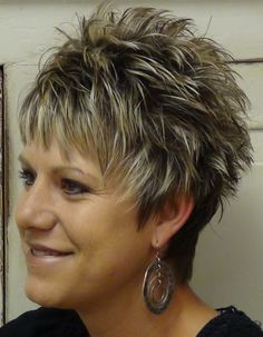 short shaggy haircuts for 2014 | Download short spikey hairstyles for women over 50