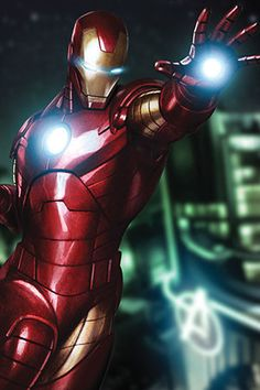 Tony Stark Aka Iron Man by Marvel Comics Graphic Art on Canvas