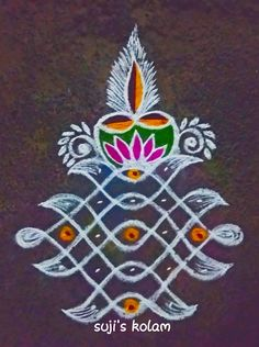 Rangoli Designs Latest, Simple Rangoli Designs Images, Rangoli Designs Diwali, Rangoli Designs With Dots, Beautiful Rangoli Designs, Kolam Rangoli, Rangoli Borders, Rangoli Border Designs, Rangoli Patterns