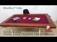 DIY - Board Gaming Table (Eng subs) - YouTube