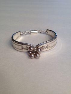 Antique spoon bracelet