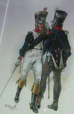 Ufficiale di fanteria della linea