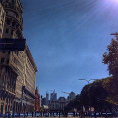 #BuenosAires #Flag #strike Louvre, Flag, Building, Instagram Posts, Travel, Buenos Aires, Viajes, Buildings, Destinations