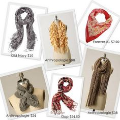 I heart scarves!