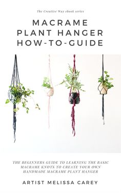 My simple How-to guide on making your own Macrame Plant Hanger + DIY Kits with all the materials you need. Or for a personalised experience, come along to one of my workshops where you can learn the art of weaving in person, with all the hot tips and expert advice on hand! Visit www.melissacarey.com.au for details