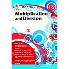 SKILL BUILDERS MULTIPLICATION &