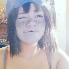 i think equius n33ds a towel h33 h33                #nepeta #cosplay #shittycosplay #homestuck #nepetacosplay #homestuckcosplay #costest #trash #makeup #cosplaymakeup #nepetaleijon #leijon