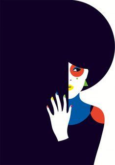 Illustration Art by Malika Favre