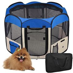 Yescom 2-Door Waterproof 600D Oxford Cloth Pet Playpen Dog Puppy Tent Exercise Kennel ** Check this useful article by going to the link at the image. #DoorsGatesRamps